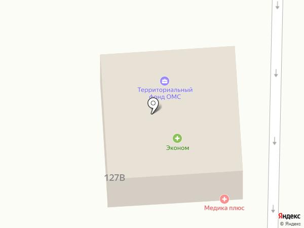 ЛЮКС на карте Кисловодска