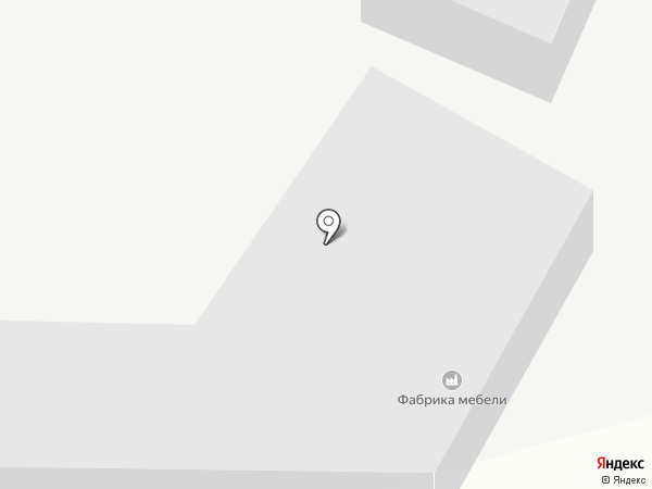 Фабрика мебели на карте Кисловодска