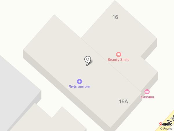 Кавминлифт на карте Кисловодска