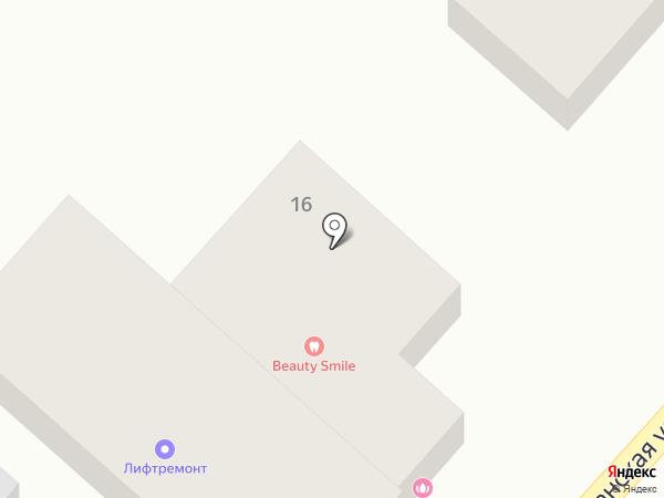 Хижина на карте Кисловодска