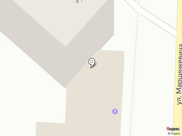 Голден Плейс на карте Кисловодска