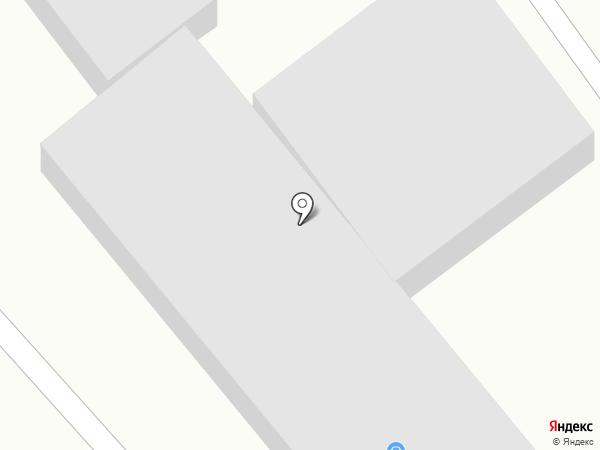 Курьер на карте Кисловодска