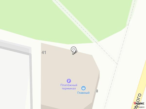 PitStop на карте Кисловодска