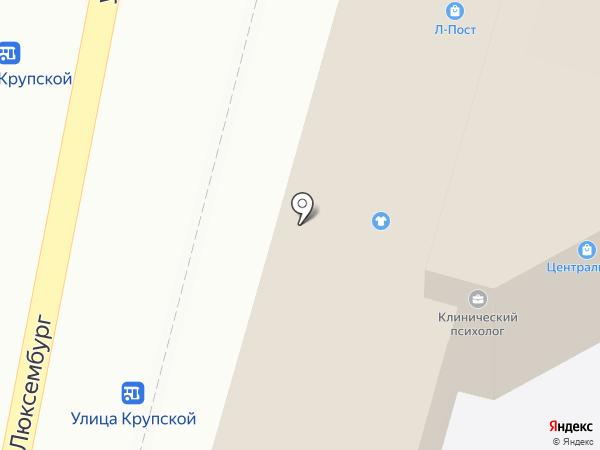 Магазин напольных покрытий на карте Кисловодска