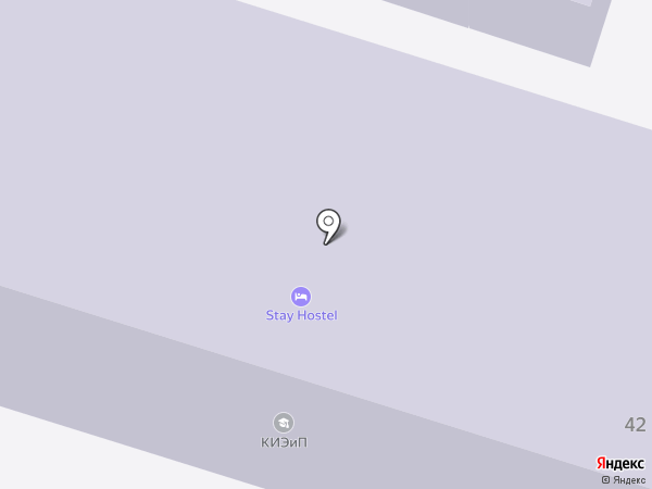 КИЭП на карте Кисловодска