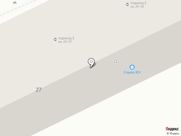 Ваго на карте Кисловодска