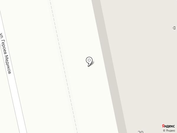 Клеопатра на карте Кисловодска