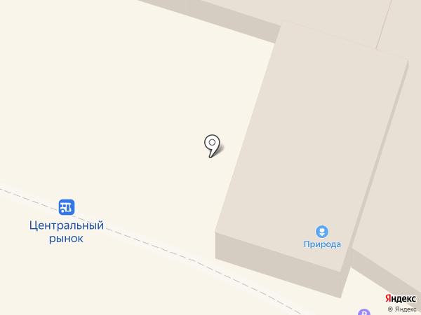 Факел на карте Кисловодска