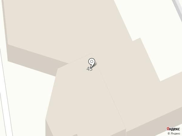 Самара на карте Кисловодска