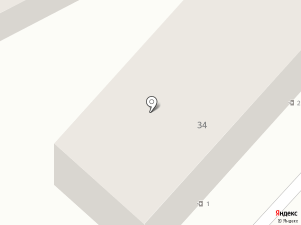 Байсад на карте Кисловодска