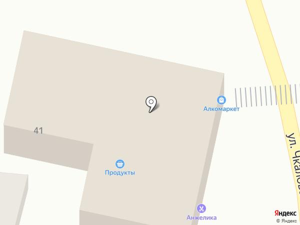 Вансар на карте Кисловодска