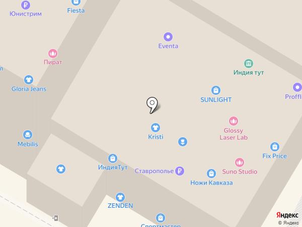 DNS на карте Кисловодска