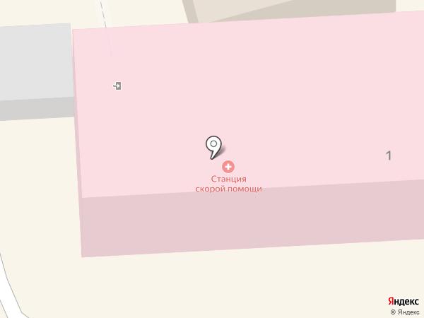 Скорая медицинская помощь на карте Кисловодска