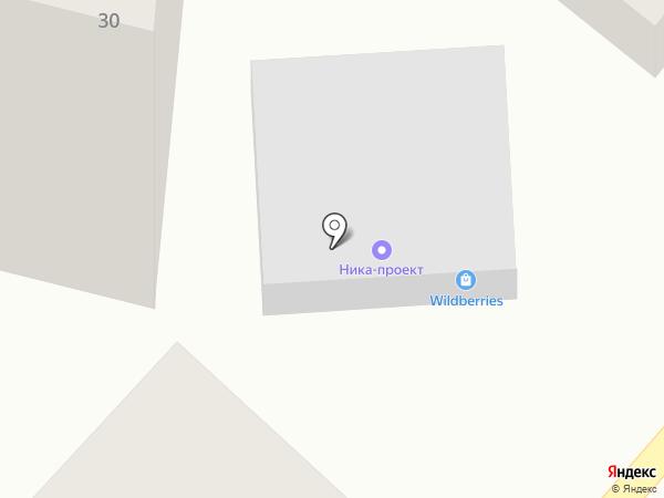 Колибри на карте Кисловодска