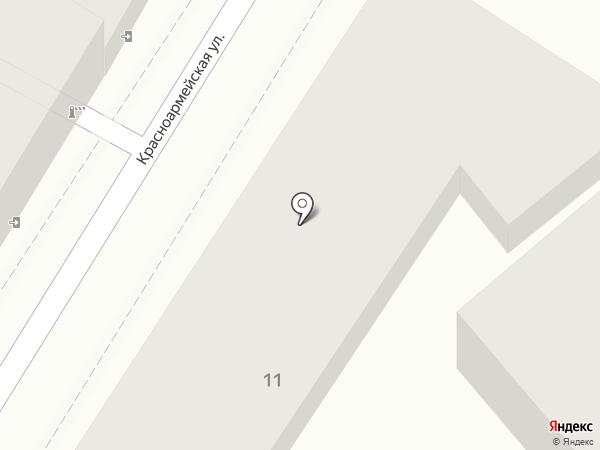 Иоланта на карте Кисловодска