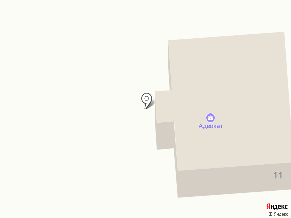 Адвокатский кабинет Малышевского А.А. на карте Кисловодска