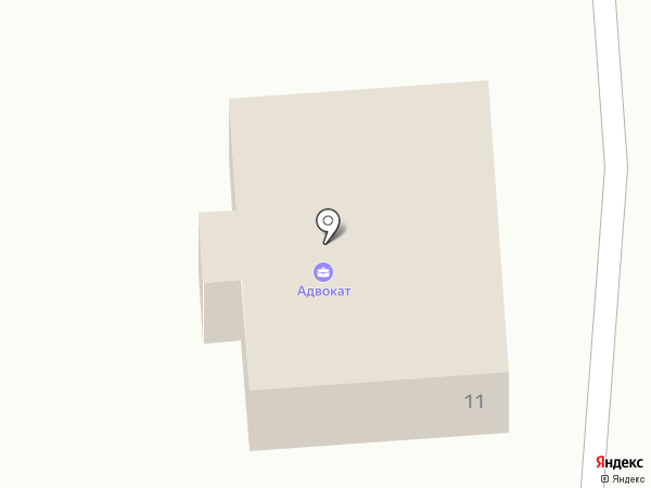 Адвокатский кабинет Рогова Е.И. на карте Кисловодска