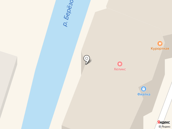 Вавилон на карте Кисловодска
