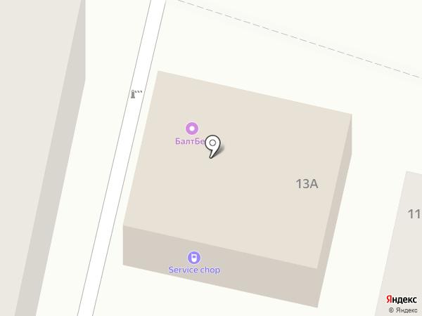 БалтБет на карте Кисловодска