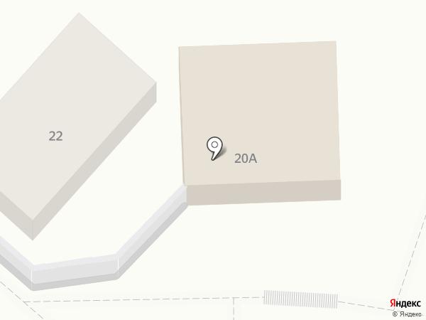 Эталон на карте Кисловодска