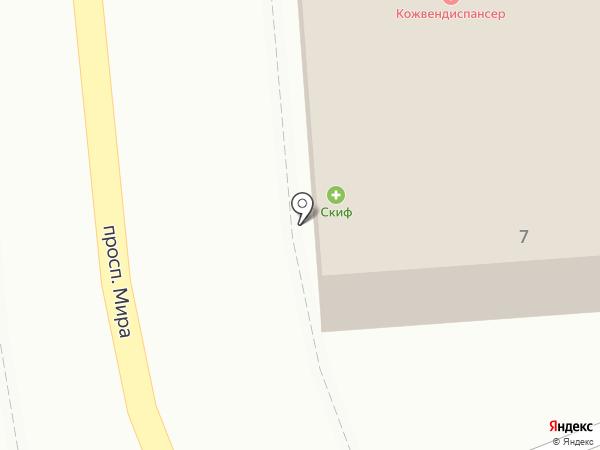 Ирина на карте Кисловодска