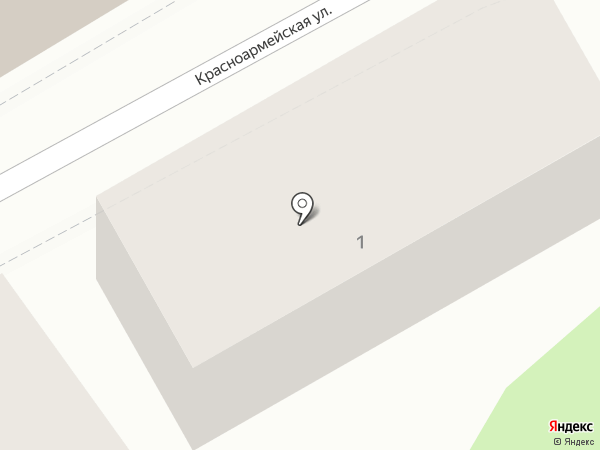 Фонд социального страхования на карте Кисловодска