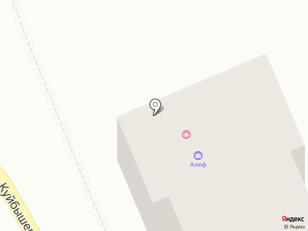 Алеф на карте Кисловодска