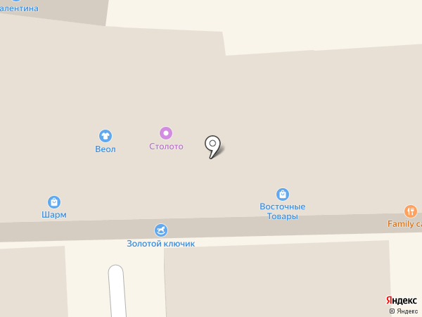 Лукоморье на карте Кисловодска