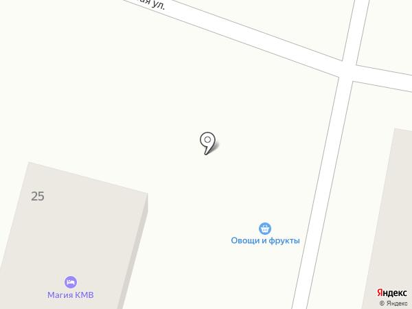 Овощной магазин на карте Кисловодска