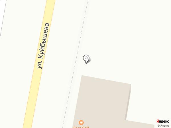 Прометей на карте Кисловодска