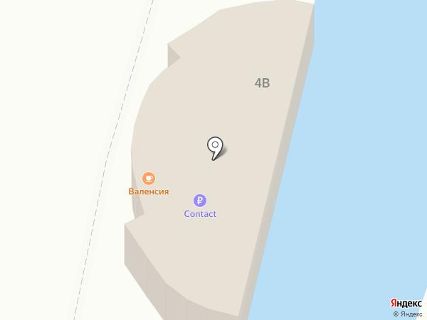 Интер Юг на карте Кисловодска