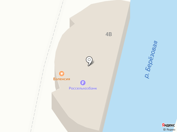 Валенсия на карте Кисловодска