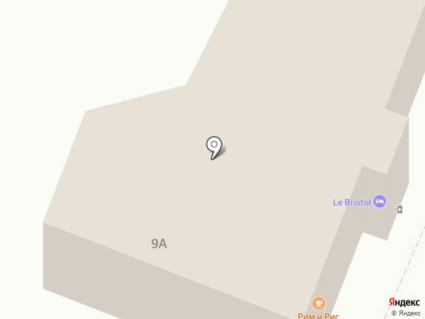 Le Bristol на карте Кисловодска