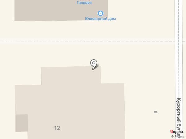 Эльф на карте Кисловодска