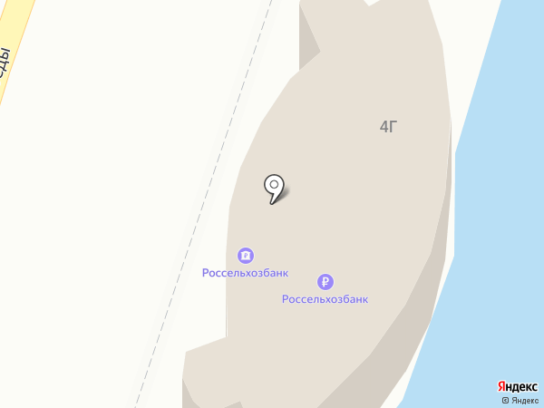 Банкомат, Россельхозбанк на карте Кисловодска