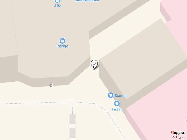 Stagioni на карте Кисловодска