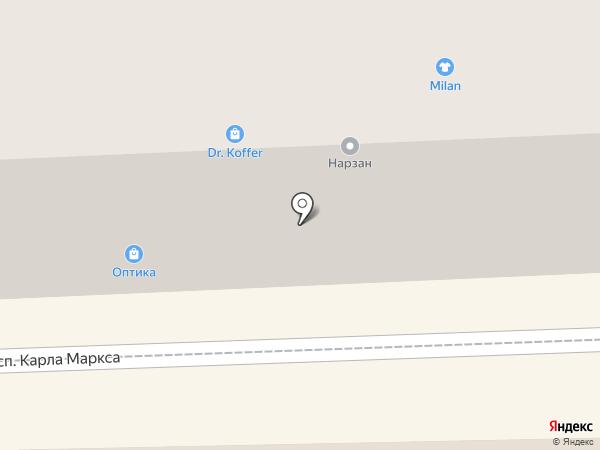 MEDICCI на карте Кисловодска