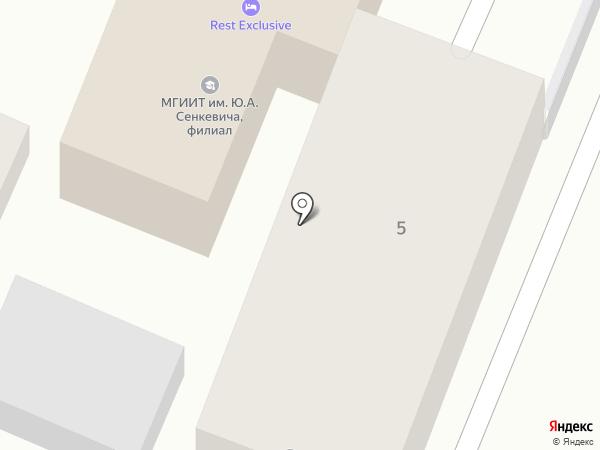 МГИИТ на карте Кисловодска