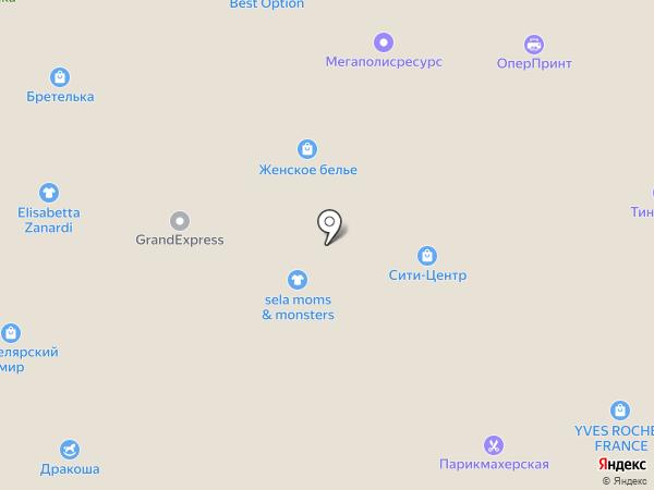 Дракоша на карте Кисловодска