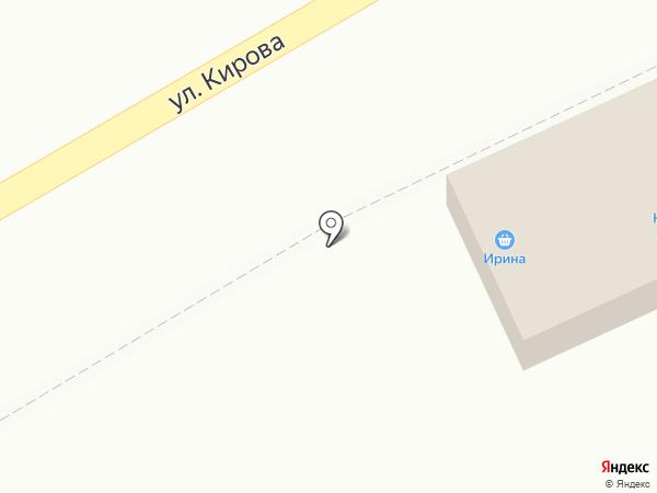 Салон цветов на карте Кисловодска