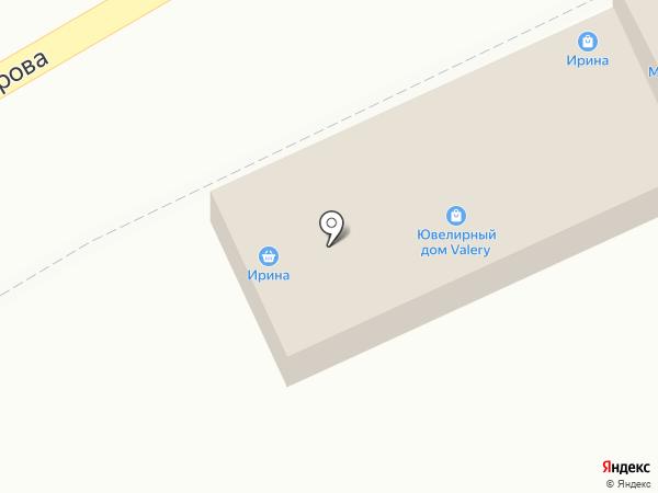 КАМВ на карте Кисловодска