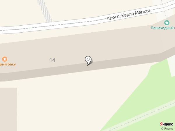 Шапландiя на карте Кисловодска