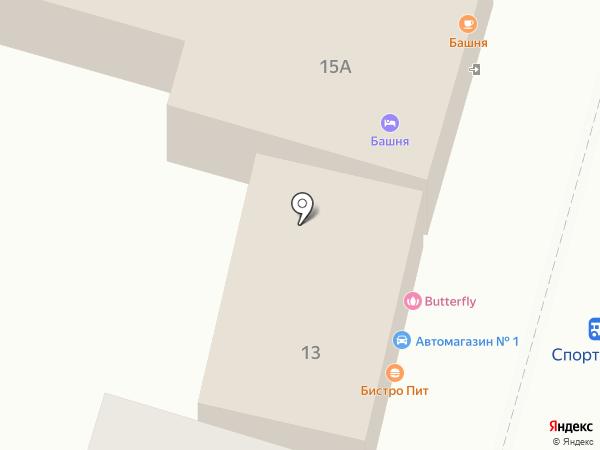 Пит на карте Кисловодска