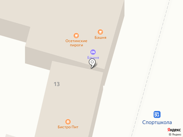 Глянец на карте Кисловодска