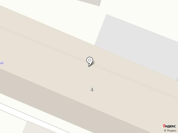 Звездный на карте Кисловодска