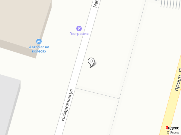 Москвичка на карте Кисловодска