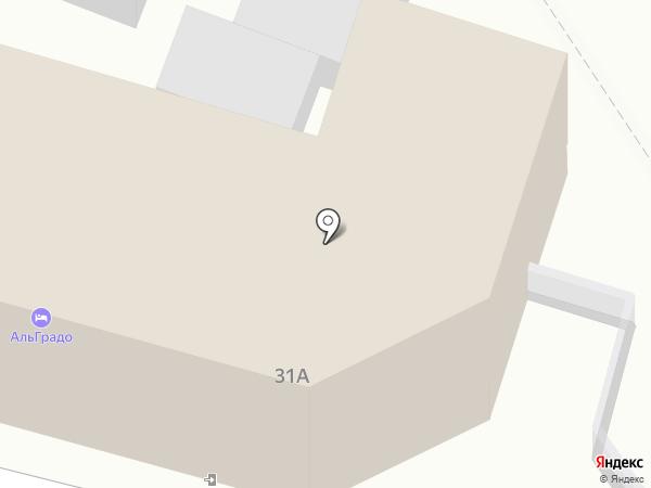 Algrado на карте Кисловодска