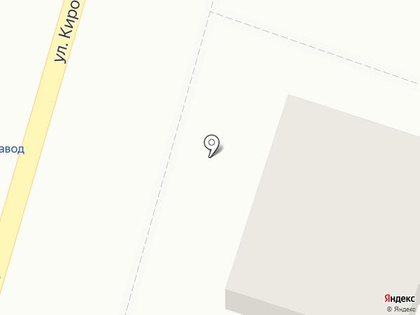 Строитель на карте Кисловодска