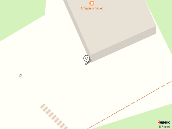 Старый парк на карте Кисловодска