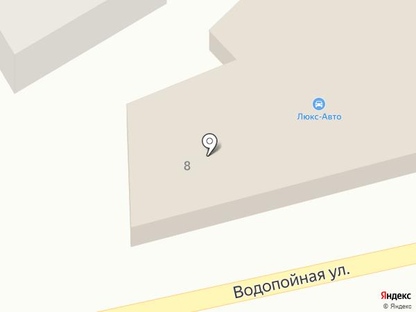 Люкс-Авто на карте Кисловодска